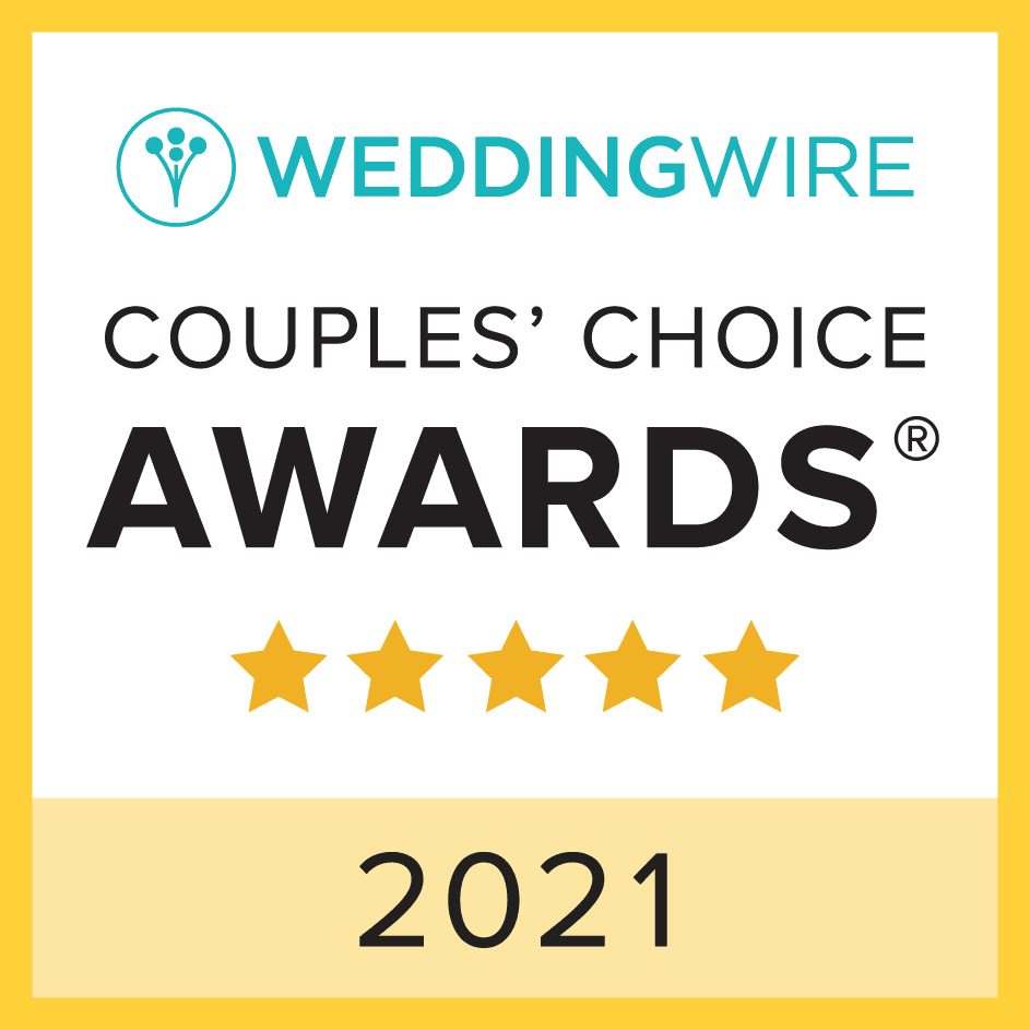2021 Wedding Wire Couple's Choice Award Winning DJ