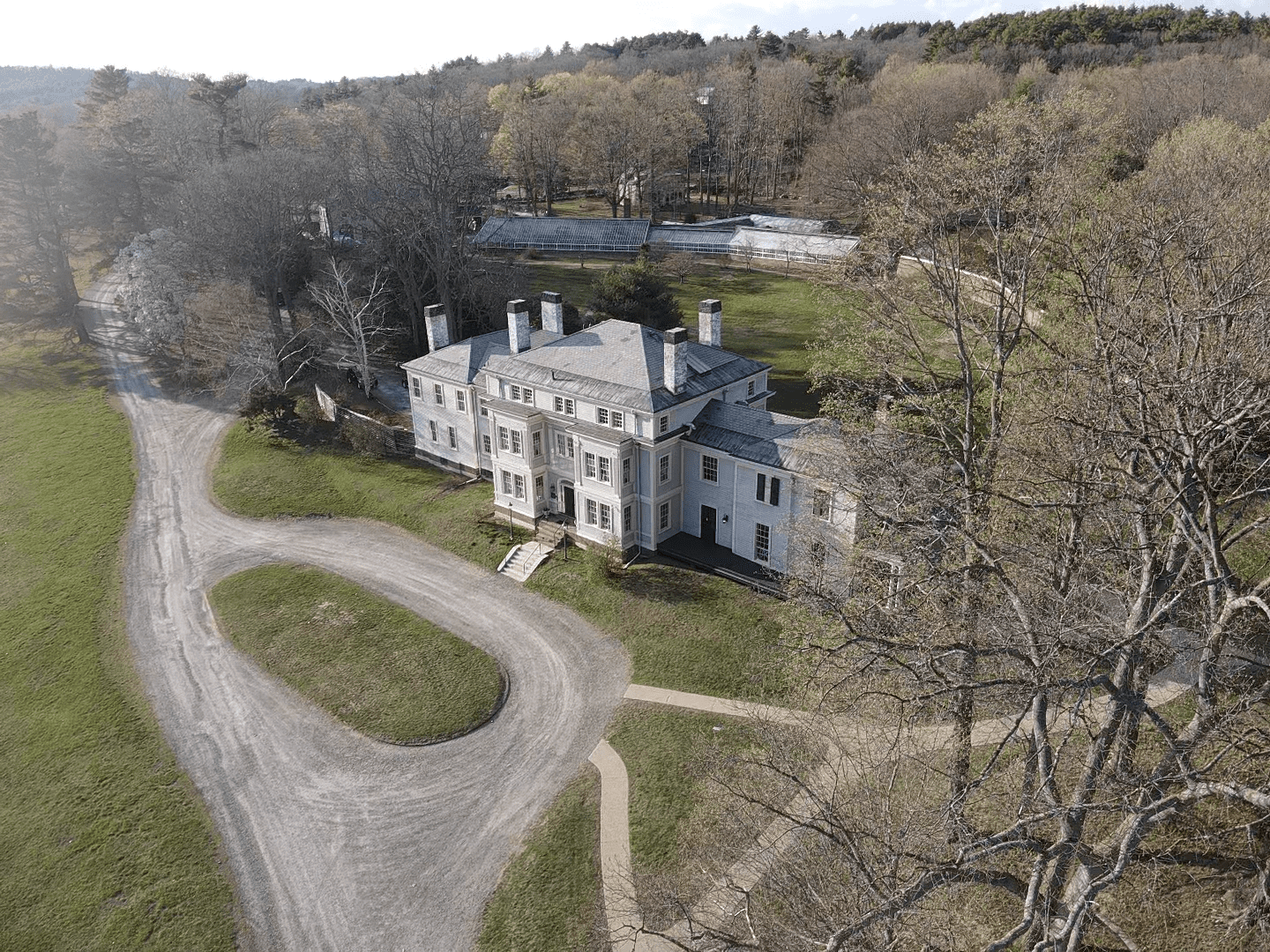 Lyman Estate drone photo